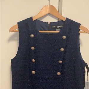 🌟karl Lagerfeld tweed dress🌟